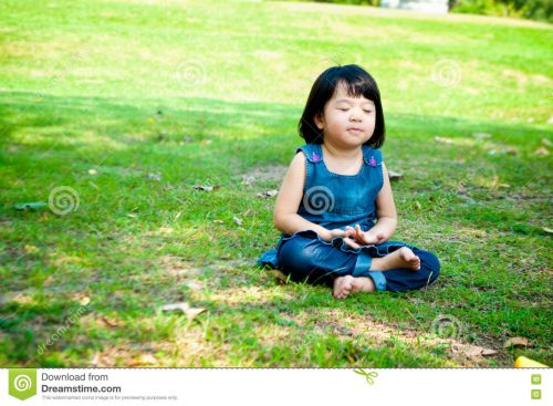 meditating-girl-little-asian-practicing-mindfulness-meditation-outdoor-park-71602437